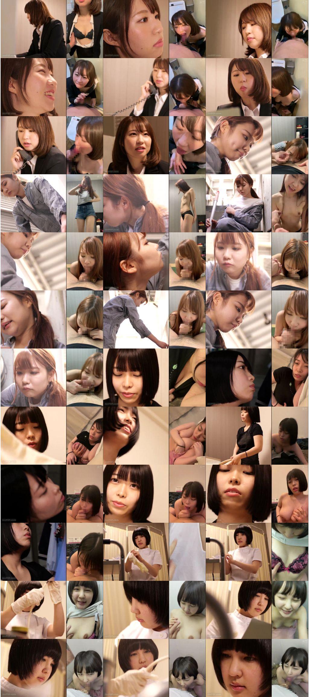 agmx 083 s - [AGMX-083] 二画面フェラ~働く私、フェラする私、二面性のある私~ Sex Agent Yuuki Mogera  その他フェチ 結城モゲラ